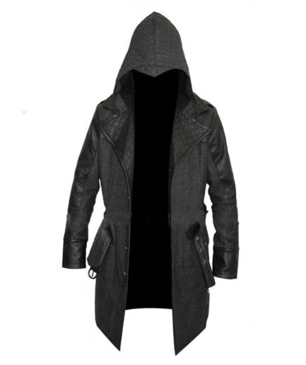 Jacob Frye Assassin's Creed Syndicate Cotton & Leather Coat
