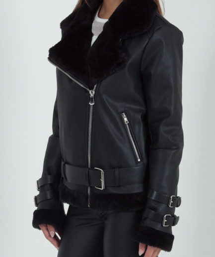 Womens B3 Geniune Bomber Leather Jackets For Sale