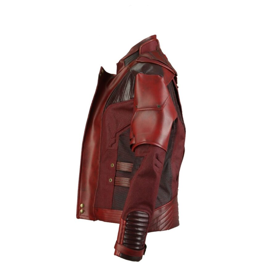 New Star Lord Guardians Of The Galaxy Vol-2 Leather Jacket