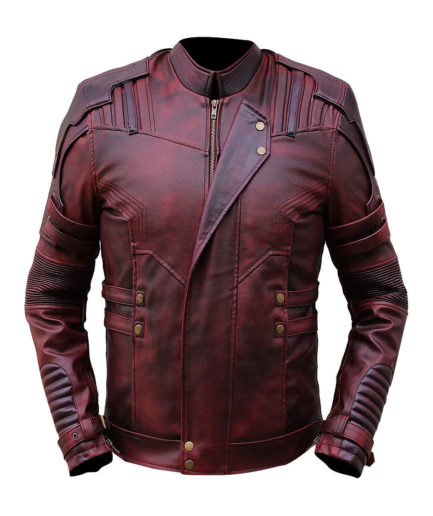 Celebrity Look Guardian Of The Galaxy 2 Star Lord Leather Jacket