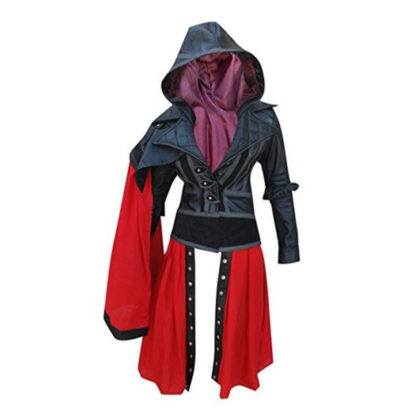 Women Assassin's Creed Syndicate Evie Frye Chaqueta Piel Leather Jacket