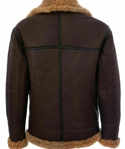 Mens B3 Brown Flight Bomber Leather Jackets For Sale